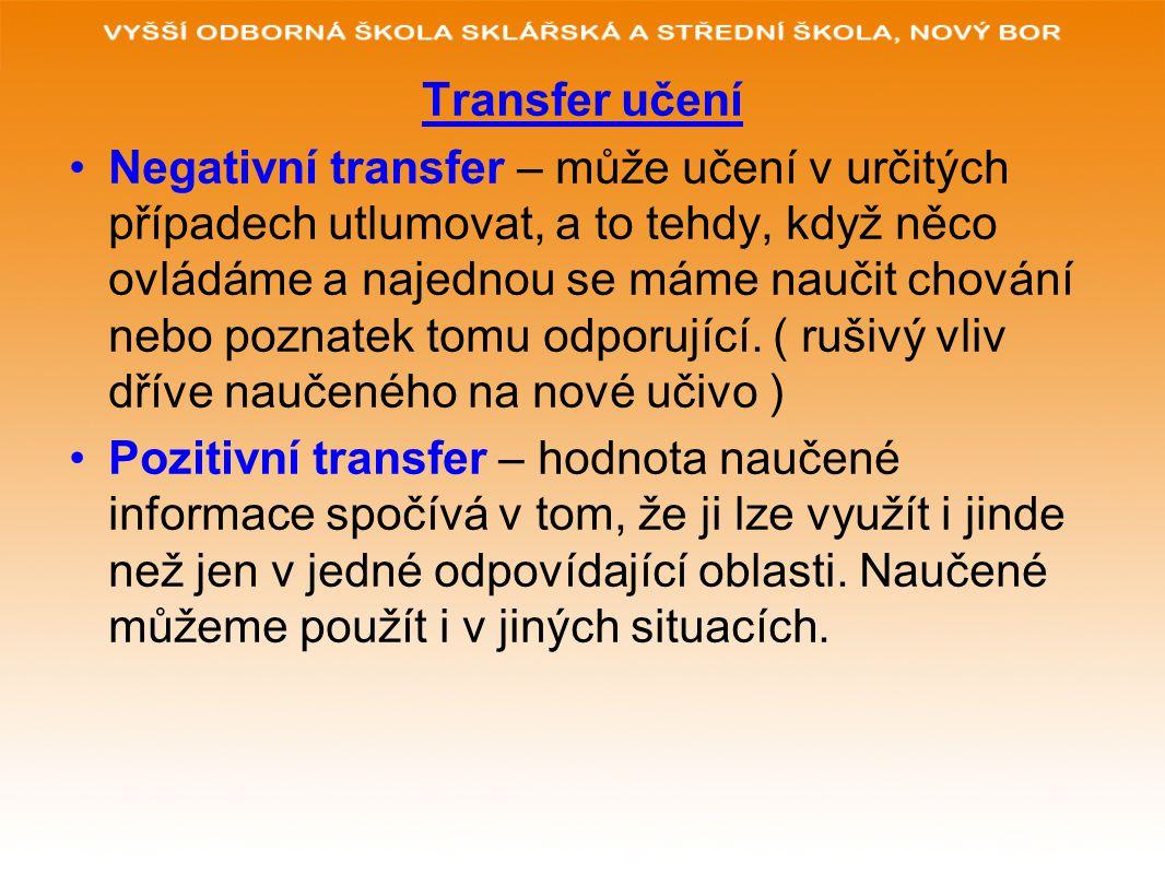 Transfer učení