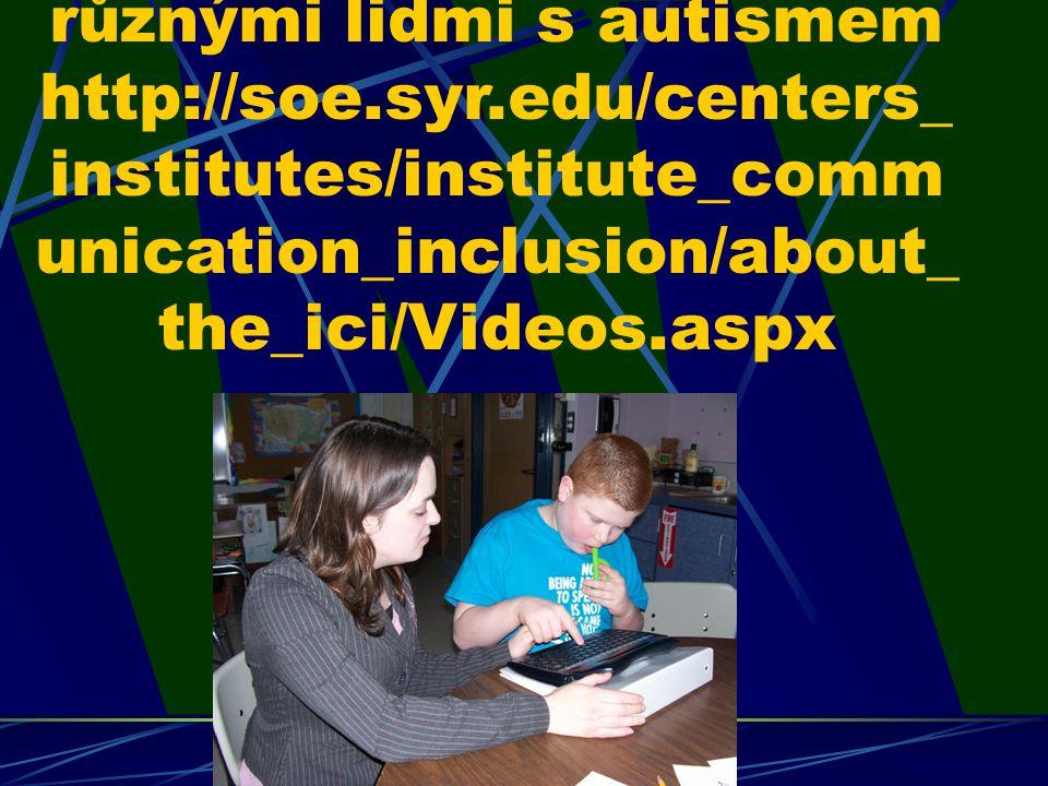 Video: ukázka FK s různými lidmi s autismem