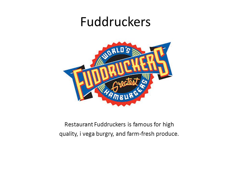 Fuddruckers Restaurant Fuddruckers is famous for high quality, i vega burgry, and farm-fresh produce.