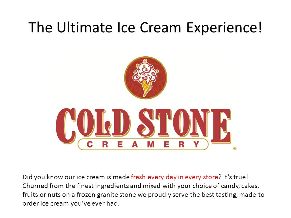 The Ultimate Ice Cream Experience!