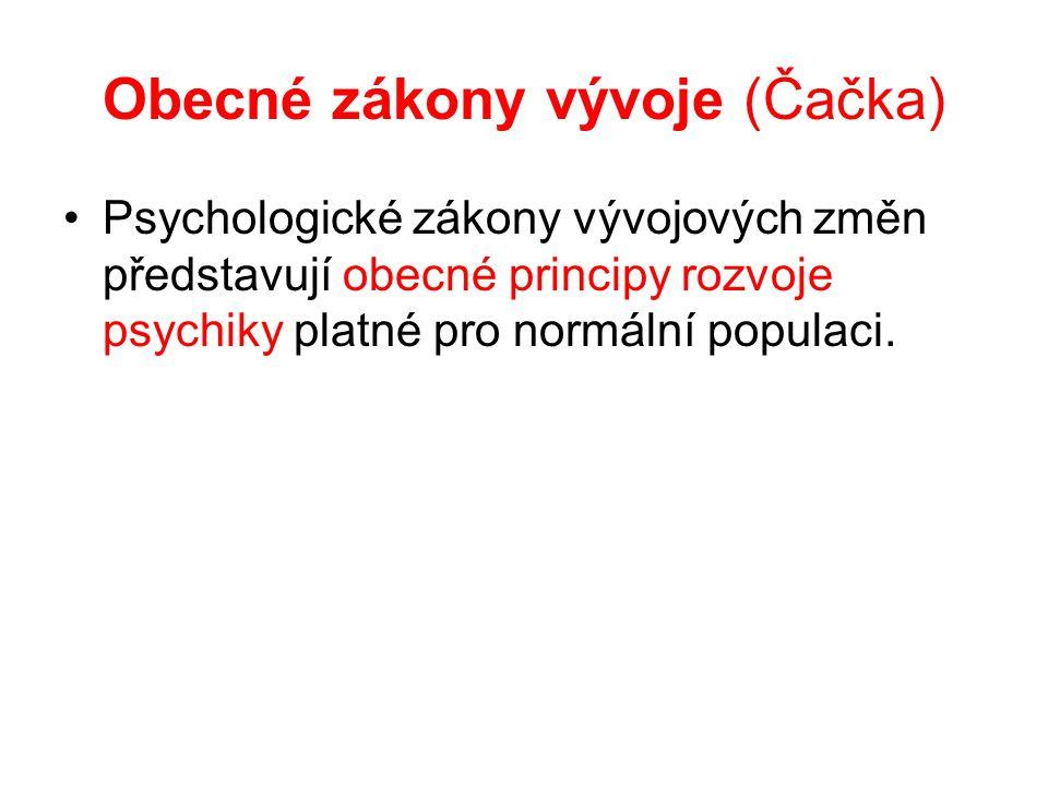 Obecné zákony vývoje (Čačka)