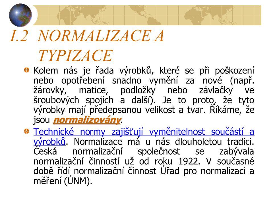 I.2 NORMALIZACE A TYPIZACE
