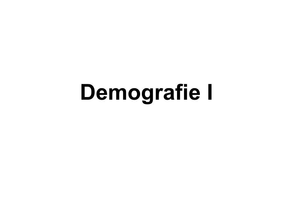 Demografie I