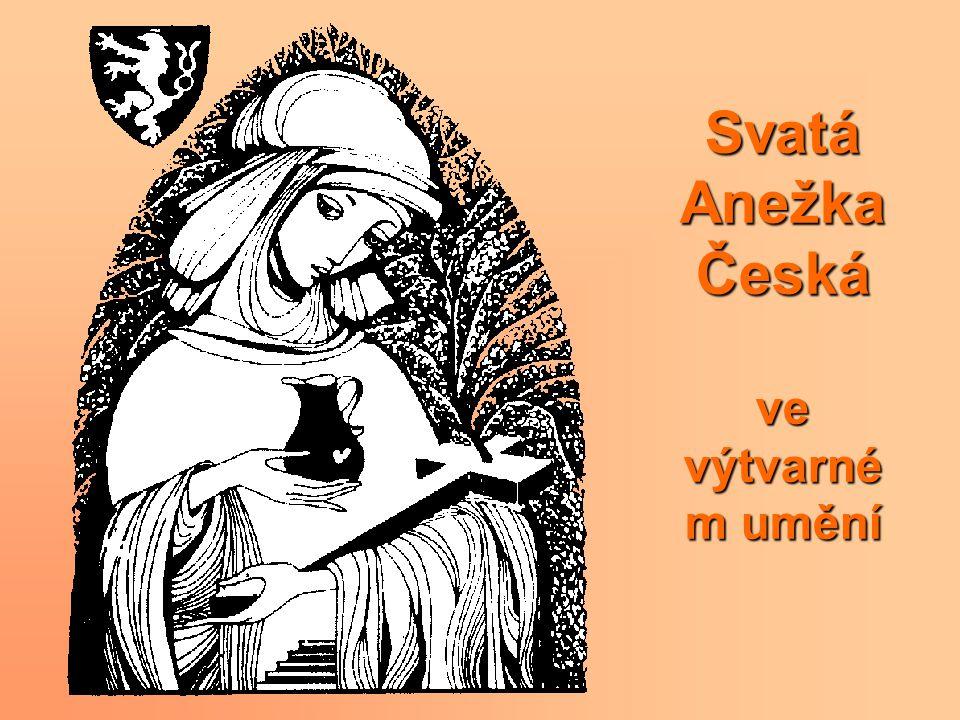 Svatá Anežka Česká ve výtvarném umění