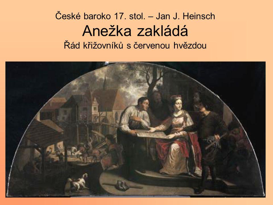 České baroko 17. stol. – Jan J