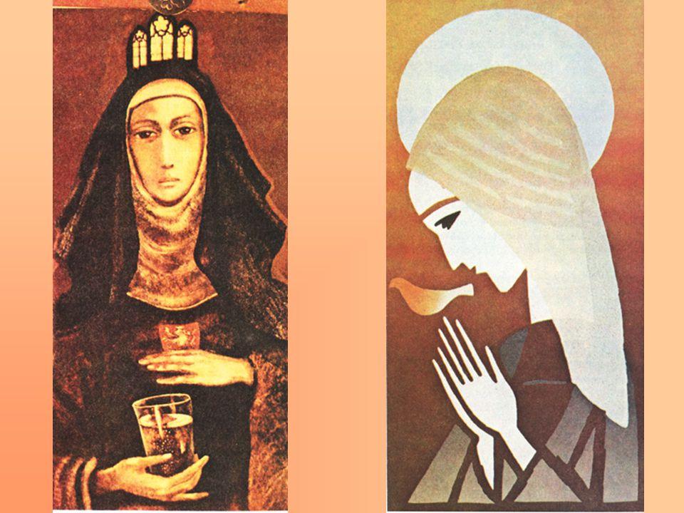 Obraz vlevo: Bedřiška Znojemská, 2. pol. 20. stol