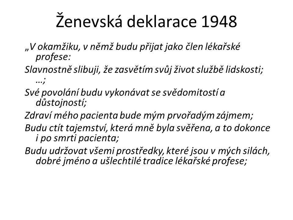 Ženevská deklarace 1948