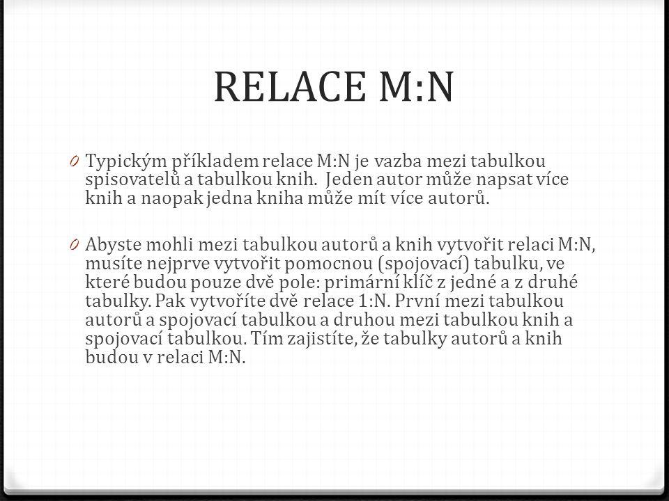 RELACE M:N