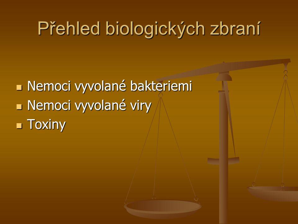 Přehled biologických zbraní