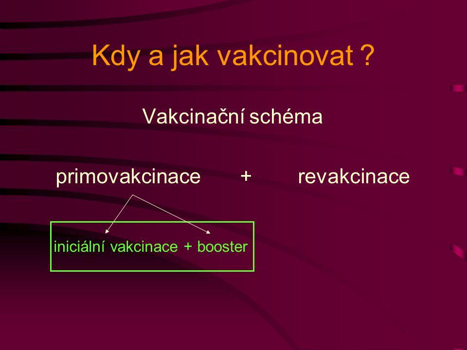 primovakcinace + revakcinace