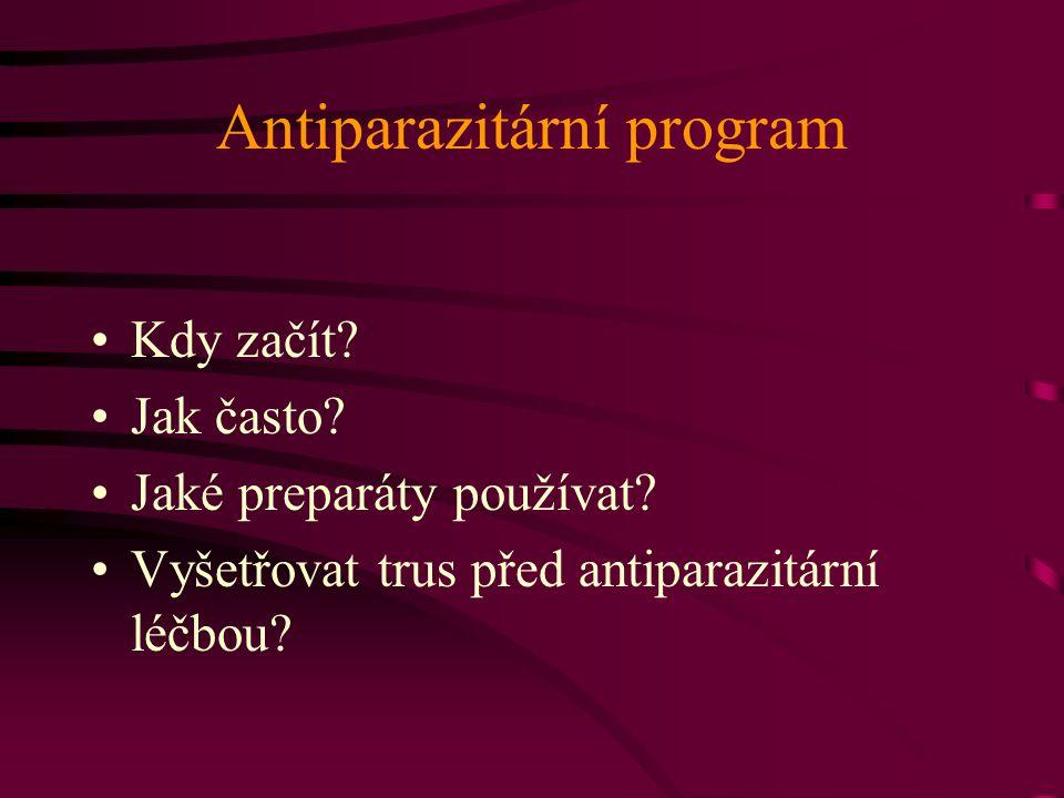 Antiparazitární program