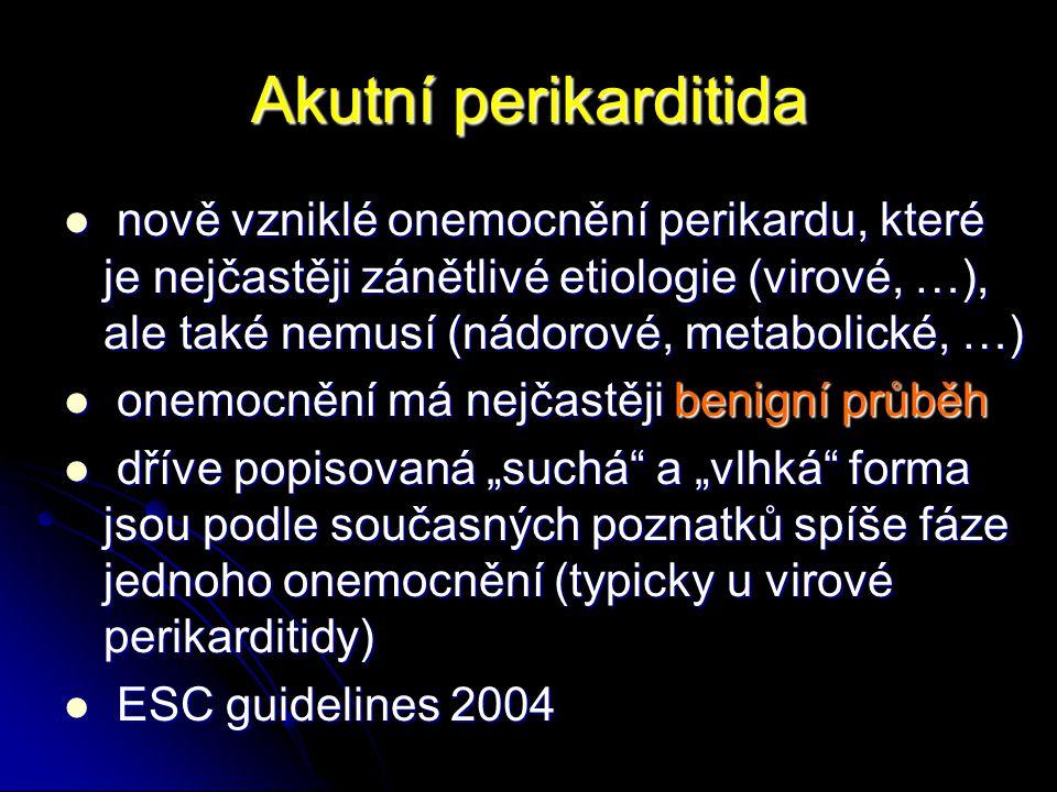 Akutní perikarditida