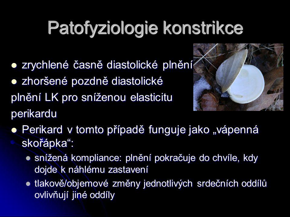 Patofyziologie konstrikce