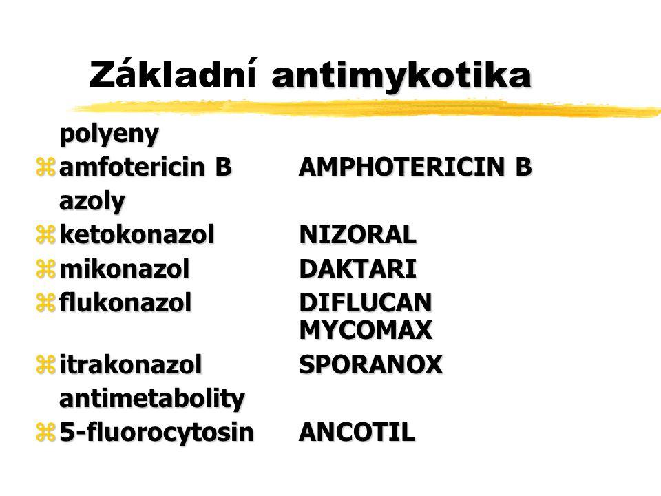 Základní antimykotika