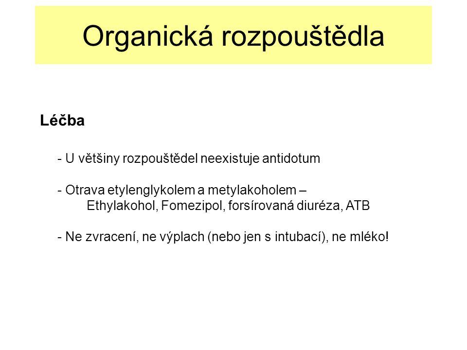 Organická rozpouštědla