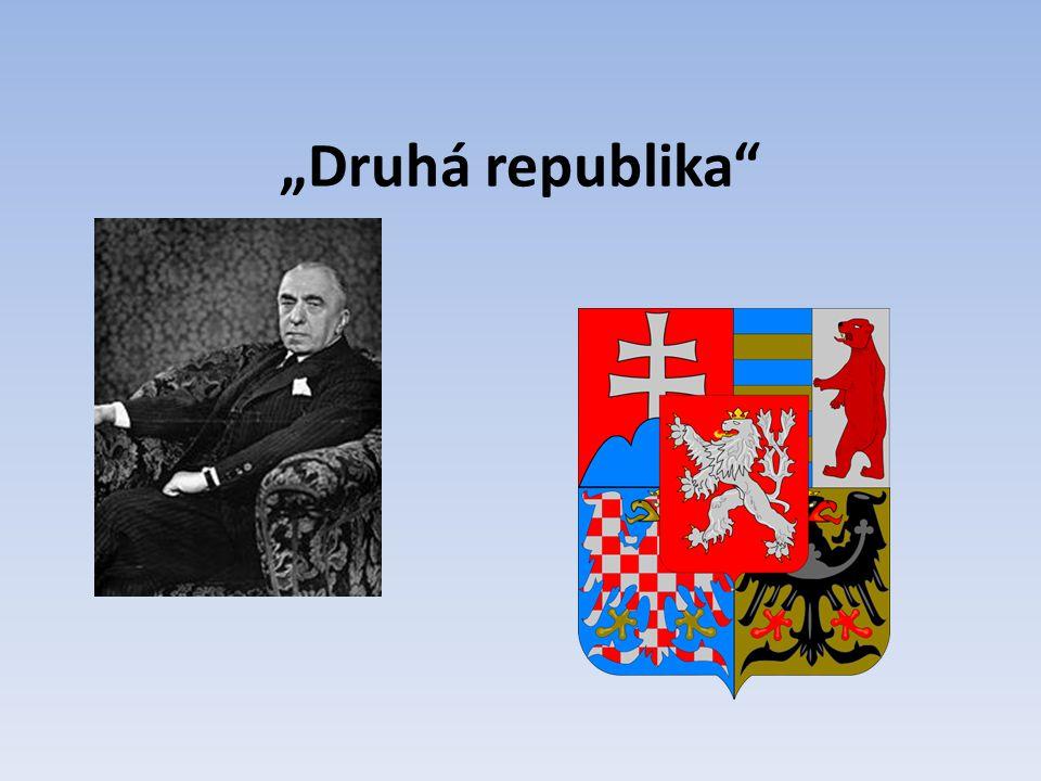 """""""Druhá republika"""