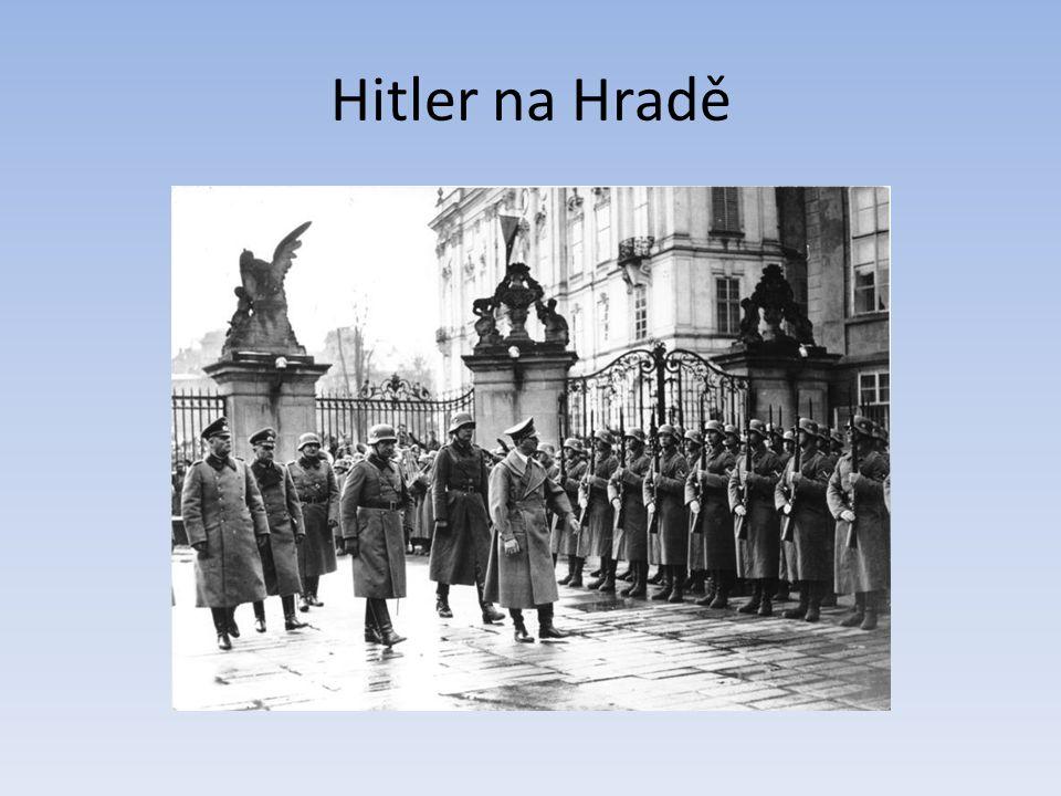 Hitler na Hradě