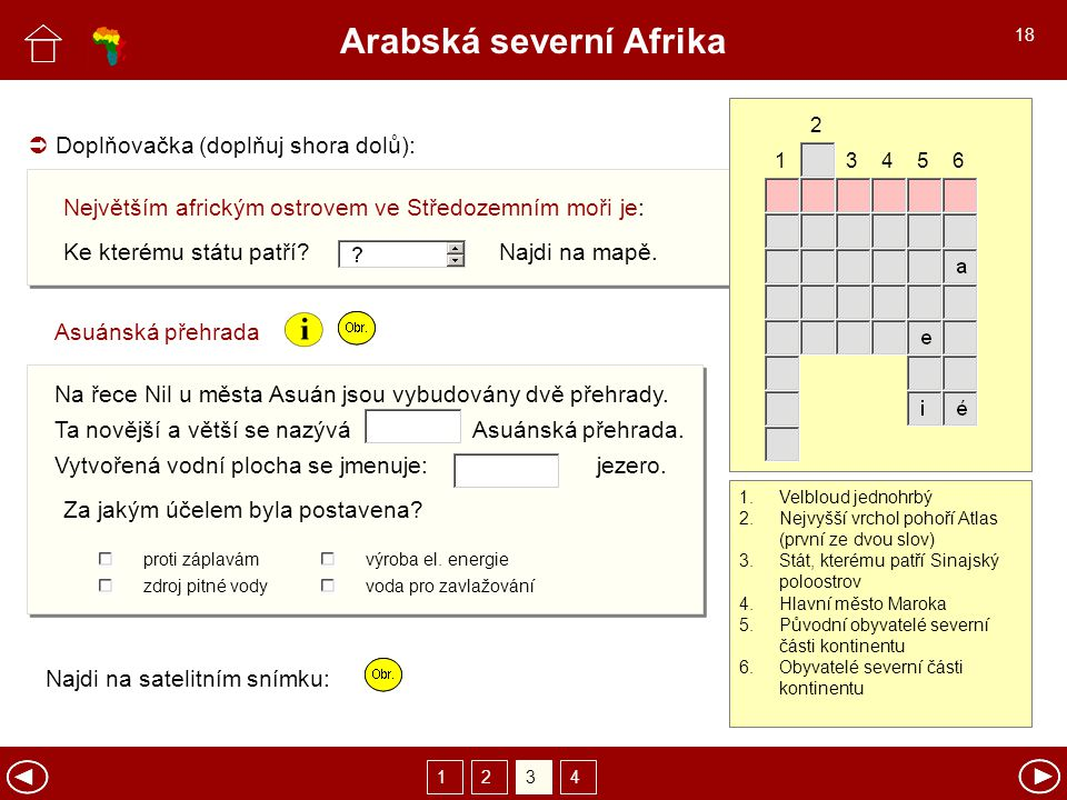 Arabská severní Afrika