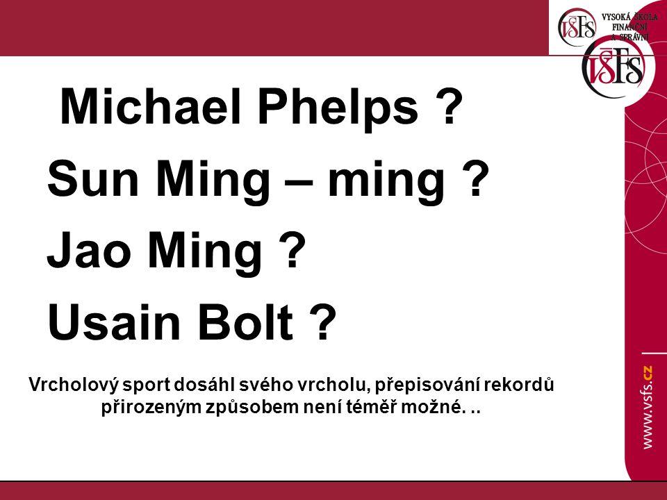 Sun Ming – ming Jao Ming Usain Bolt