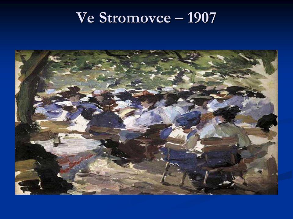 Ve Stromovce – 1907