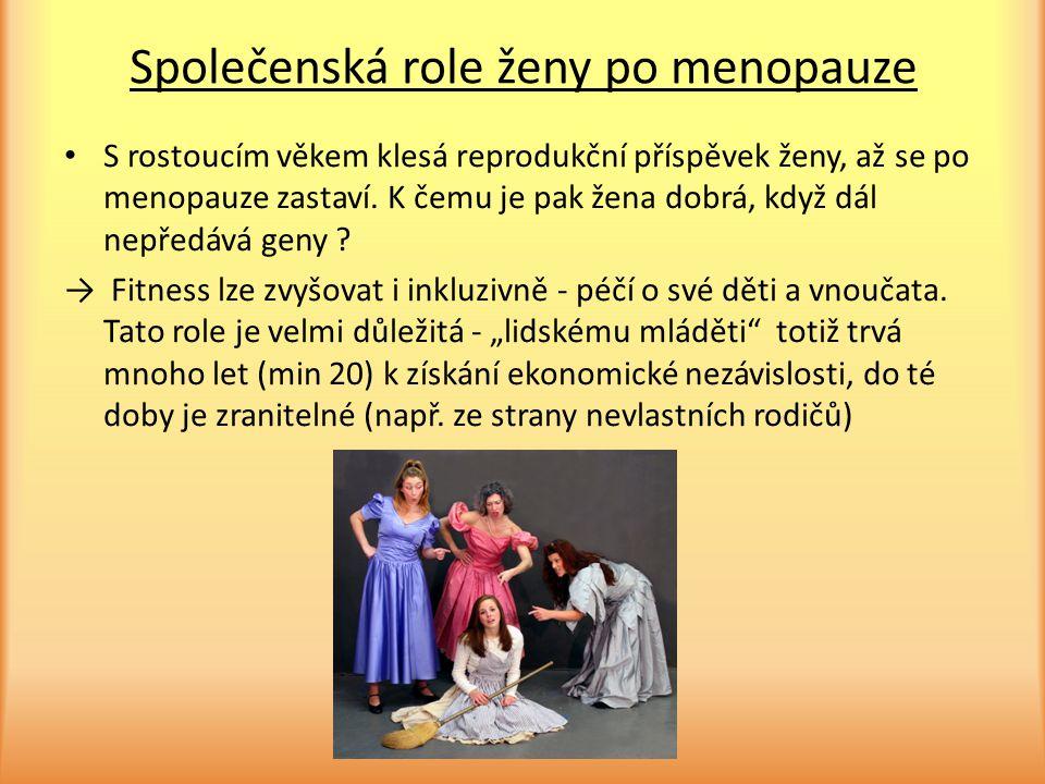 Společenská role ženy po menopauze
