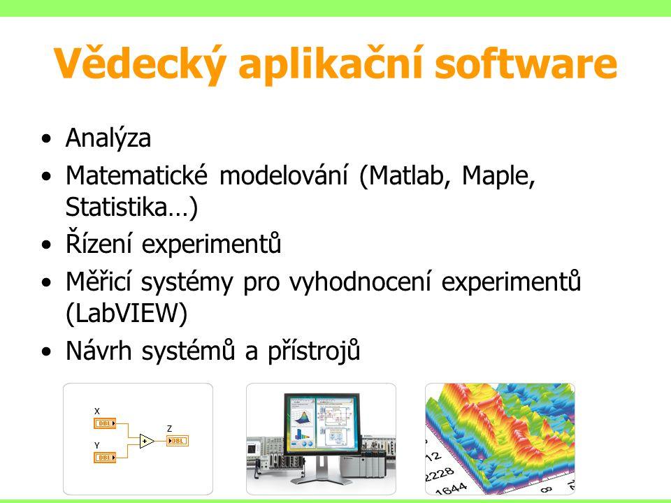 Vědecký aplikační software