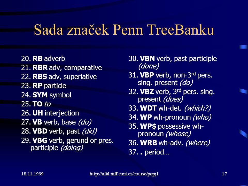 Sada značek Penn TreeBanku