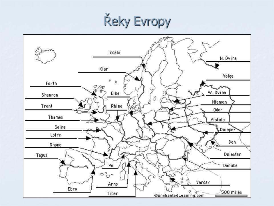 Řeky Evropy
