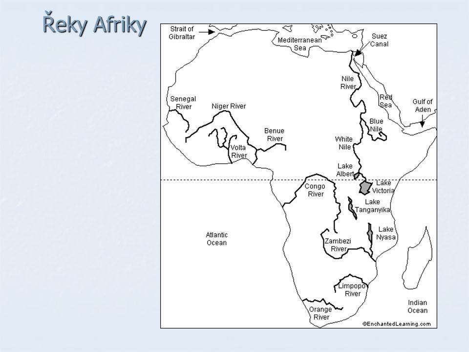 Řeky Afriky