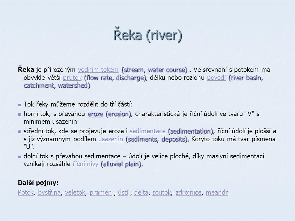 Řeka (river)