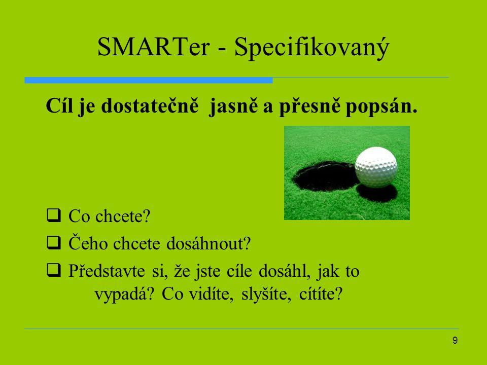 SMARTer - Specifikovaný