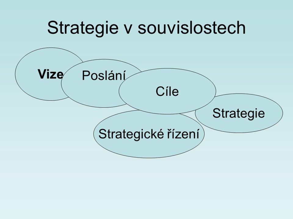 Strategie v souvislostech