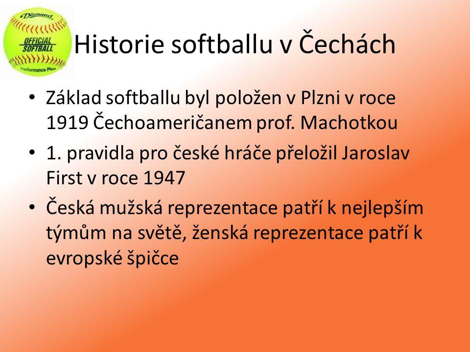 Historie softballu v Čechách