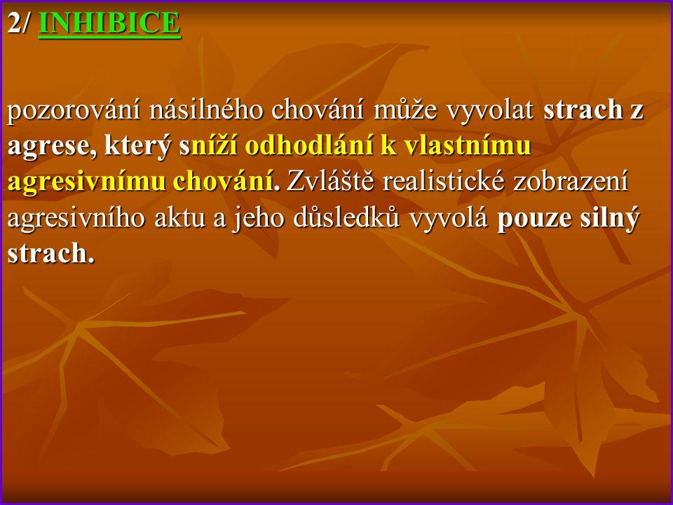 2/ INHIBICE