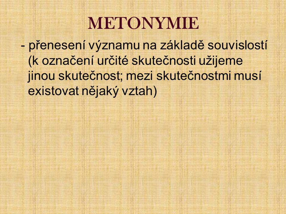 METONYMIE