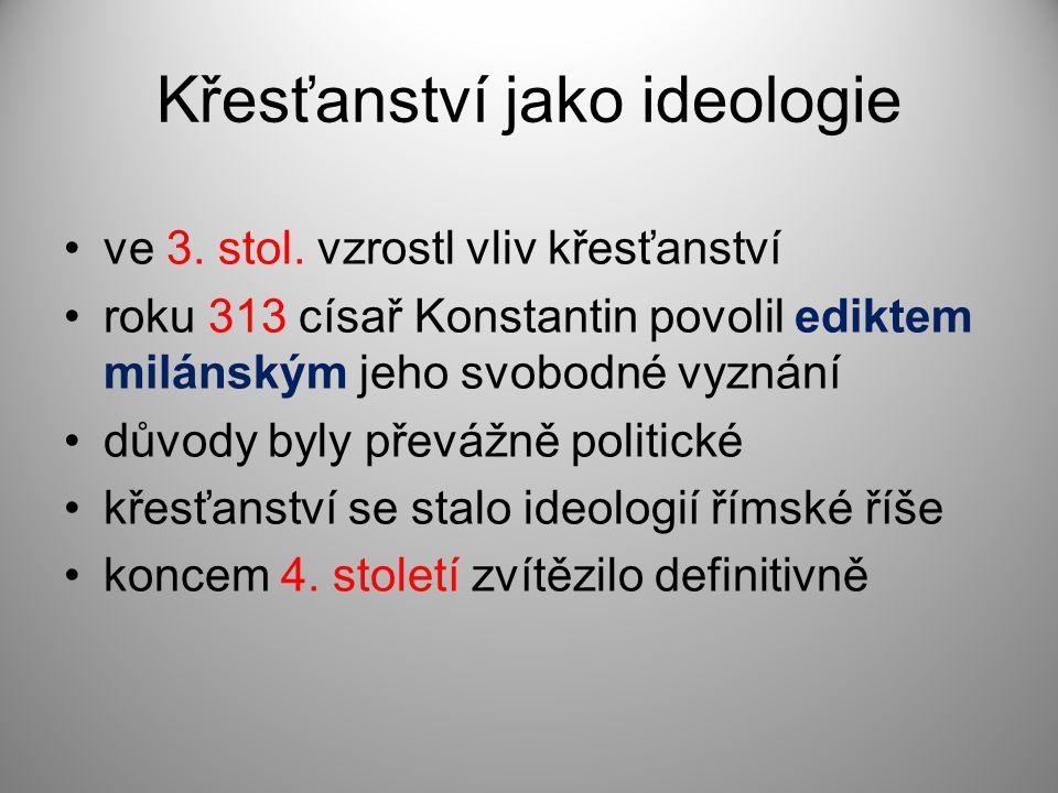Křesťanství jako ideologie