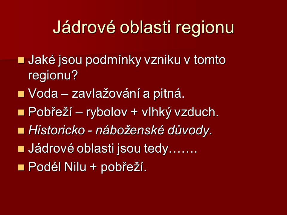 Jádrové oblasti regionu