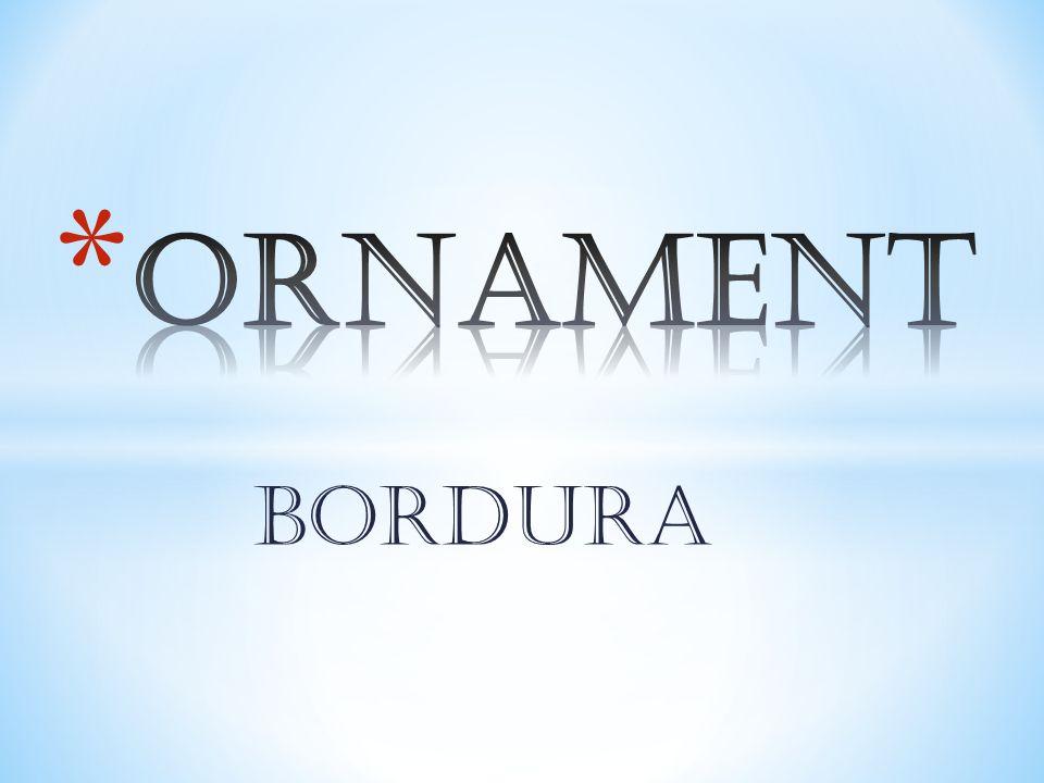 ORNAMENT BORDURA