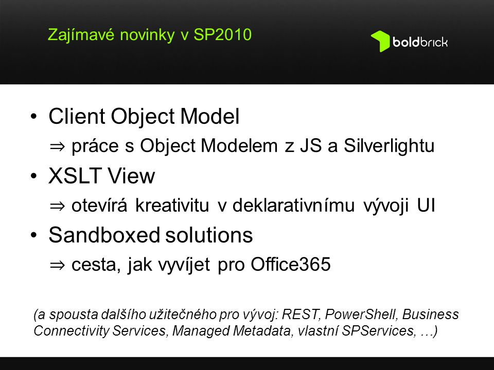 Client Object Model XSLT View Sandboxed solutions
