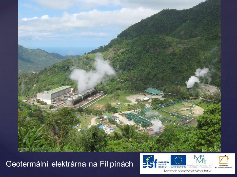 Geotermální elektrárna na Filipínách