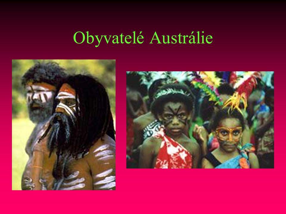 Obyvatelé Austrálie