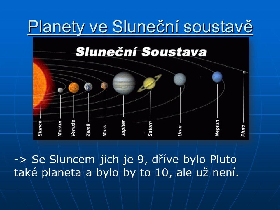 Planety ve Sluneční soustavě