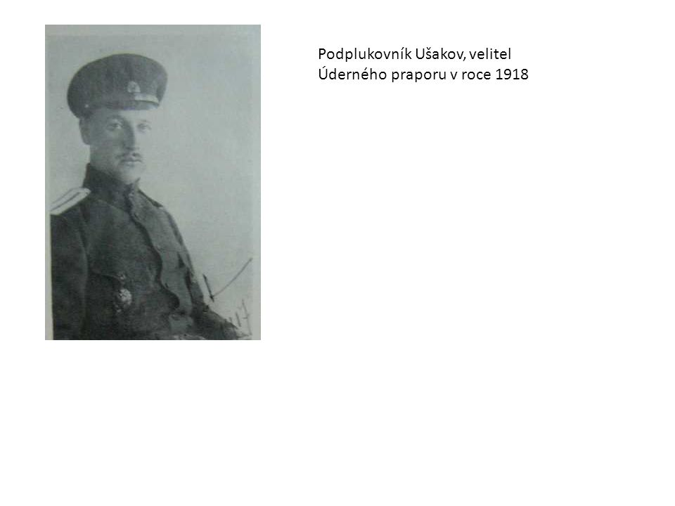 Podplukovník Ušakov, velitel