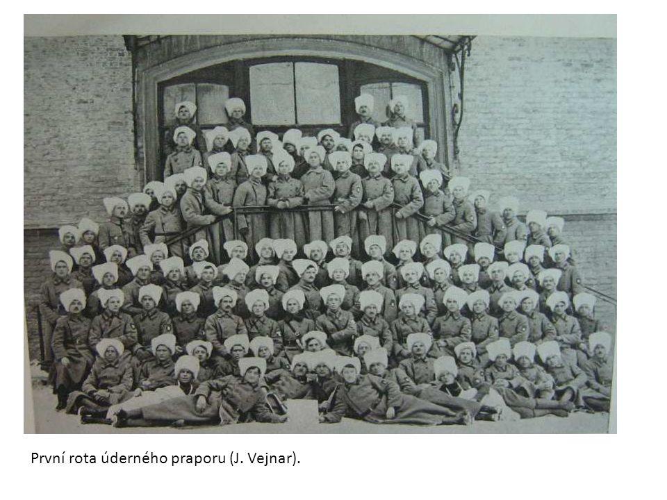 První rota úderného praporu (J. Vejnar).