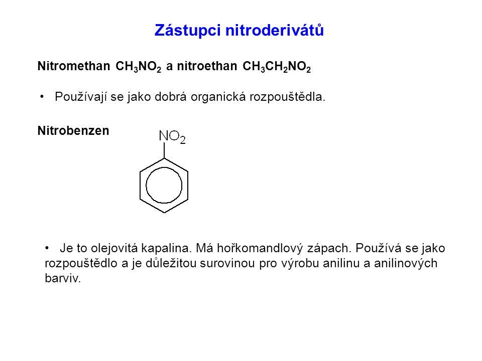 Zástupci nitroderivátů
