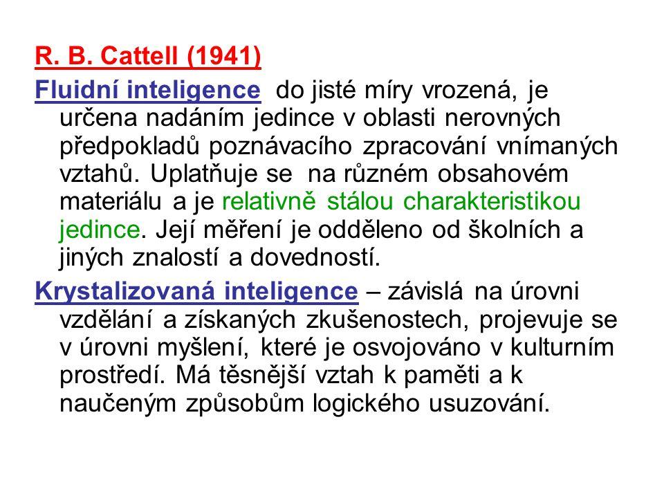 R. B. Cattell (1941)