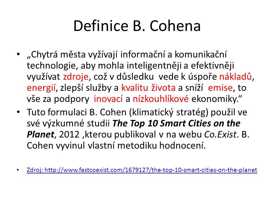 Definice B. Cohena
