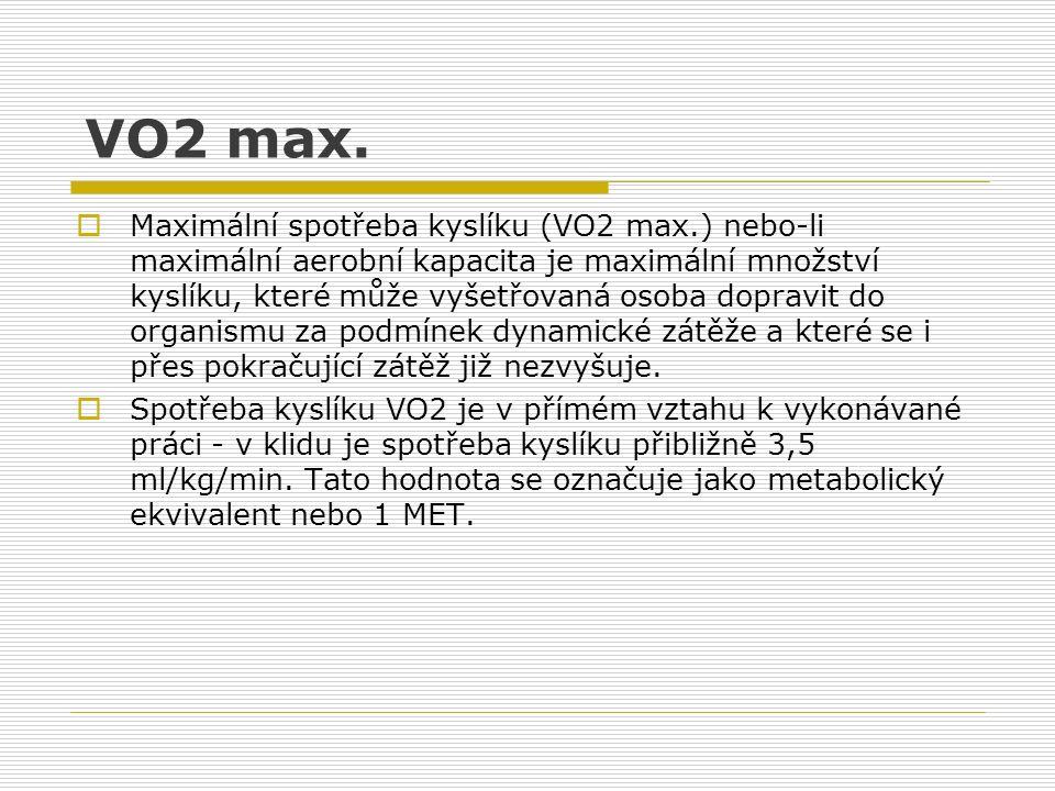 VO2 max.