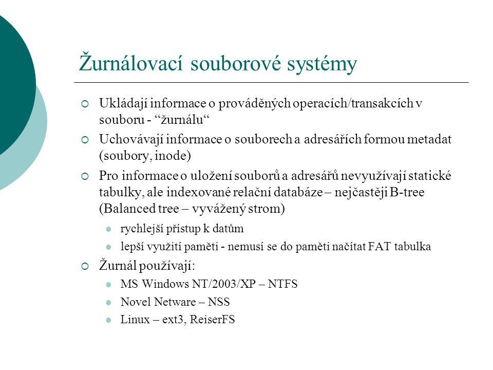 Žurnálovací souborové systémy