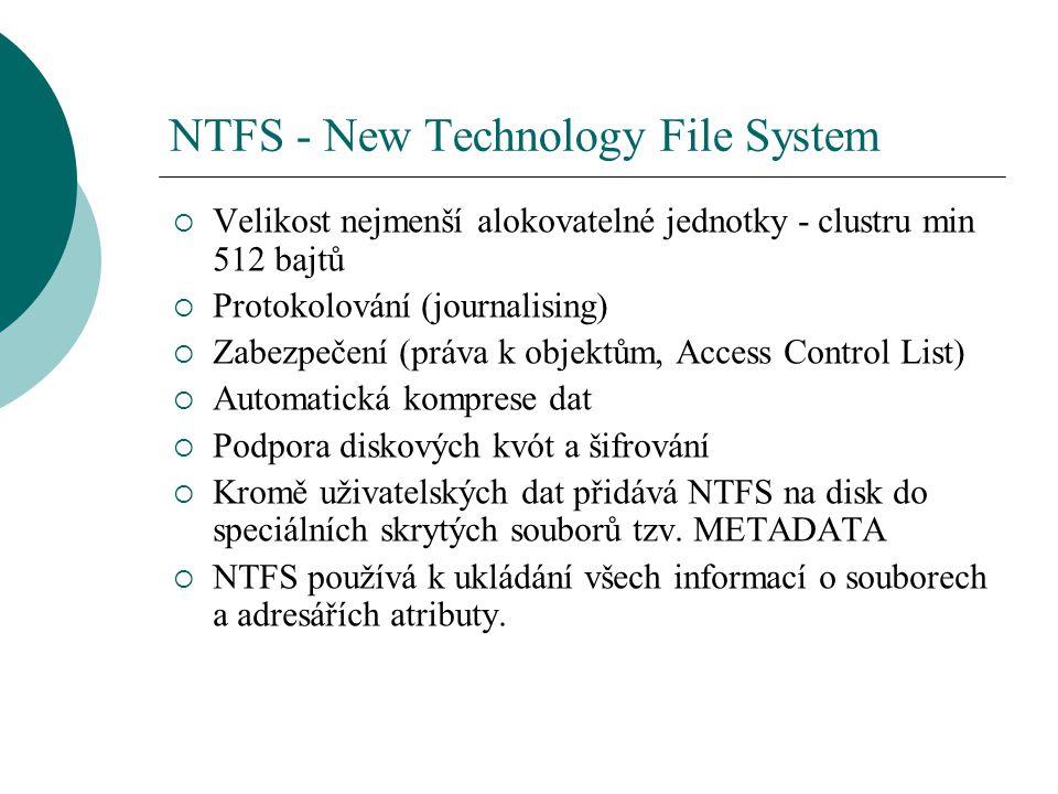 NTFS - New Technology File System